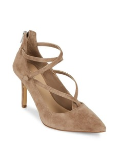 Saks Fifth Avenue Bernadet Leather Stiletto Pumps