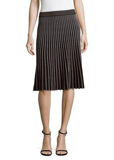 Saks Fifth Avenue BLACK Blacks Long Knit Skirt