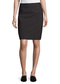 Saks Fifth Avenue BLACK Classic Pencil Skirt