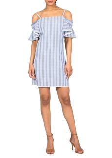 Saks Fifth Avenue BLACK Cold Shoulder Dress
