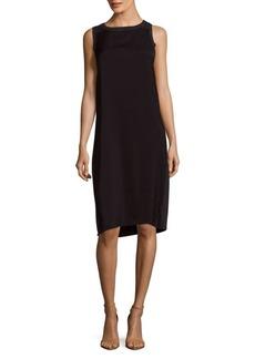 Saks Fifth Avenue BLACK Colorblock Slip-On Dress