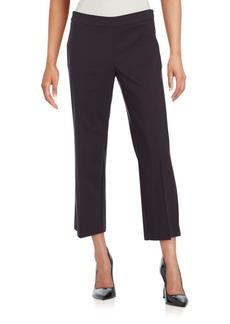 Saks Fifth Avenue BLACK Power Stretch Culotte Pants