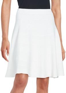 Saks Fifth Avenue BLACK Flared A-Line Skirt