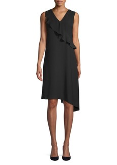Gauzy Asymmetrical Dress