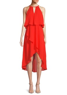 Saks Fifth Avenue Hi-Lo Blouson Dress