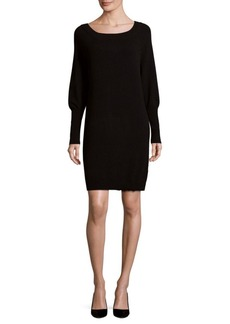 Saks Fifth Avenue BLACK Knitted Long-Sleeve Dress