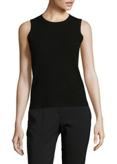 Saks Fifth Avenue BLACK Knitted Sleeveless Top