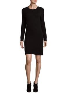 Saks Fifth Avenue BLACK Minimalist Merino Sheath Dress