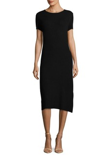 Saks Fifth Avenue Short-Sleeve Knitted Sheath Dress