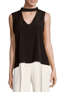 Saks Fifth Avenue Sleeveless Choker Top