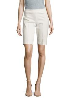 Saks Fifth Avenue BLACK Solid Elasticized-Waist Shorts