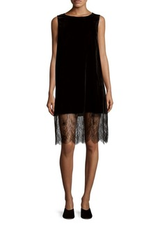 Saks Fifth Avenue Velvet Tank Dress