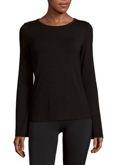 Saks Fifth Avenue BLUE Bell Sleeve Top