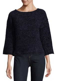 Saks Fifth Avenue Chenille Slouch Sweater