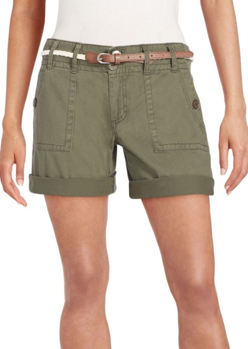 Saks Fifth Avenue BLUE Cotton Cargo Shorts