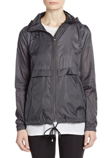 Saks Fifth Avenue BLUE Packable Zip-Front Jacket