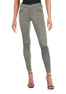 Saks Fifth Avenue BLUE Paneled Ankle-Length Pants