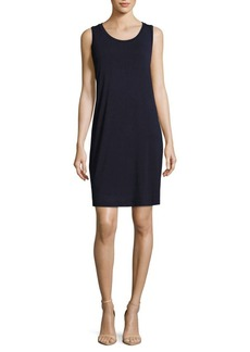 Saks Fifth Avenue BLUE Solid Sleeveless Slip Dress