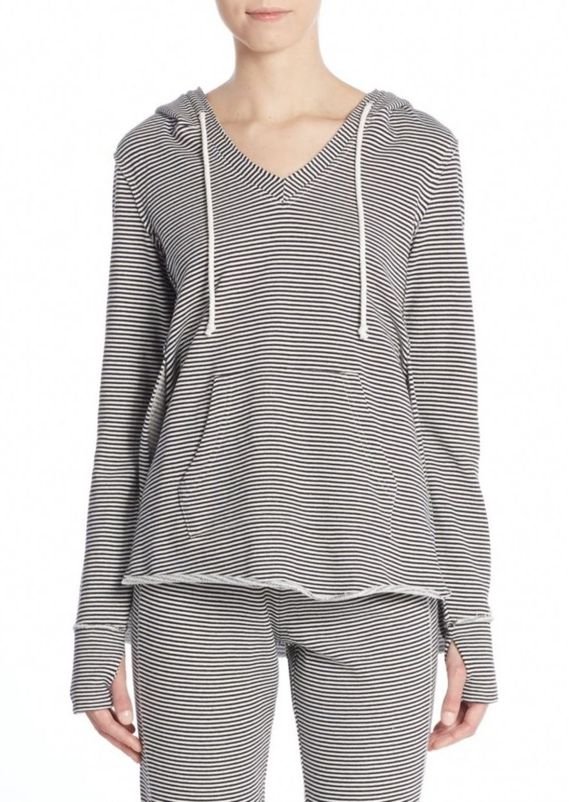 Saks Fifth Avenue BLUE Striped Hoodie
