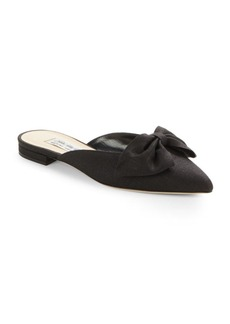 Saks Fifth Avenue Made in Italy Bree Linen Point Toe Flats