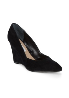 Saks Fifth Avenue Bree Suede Wedge Pumps
