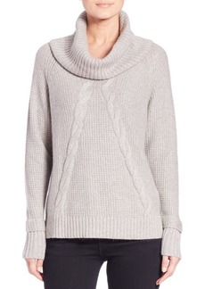 Saks Fifth Avenue Cable-Knit Cowlneck Sweater