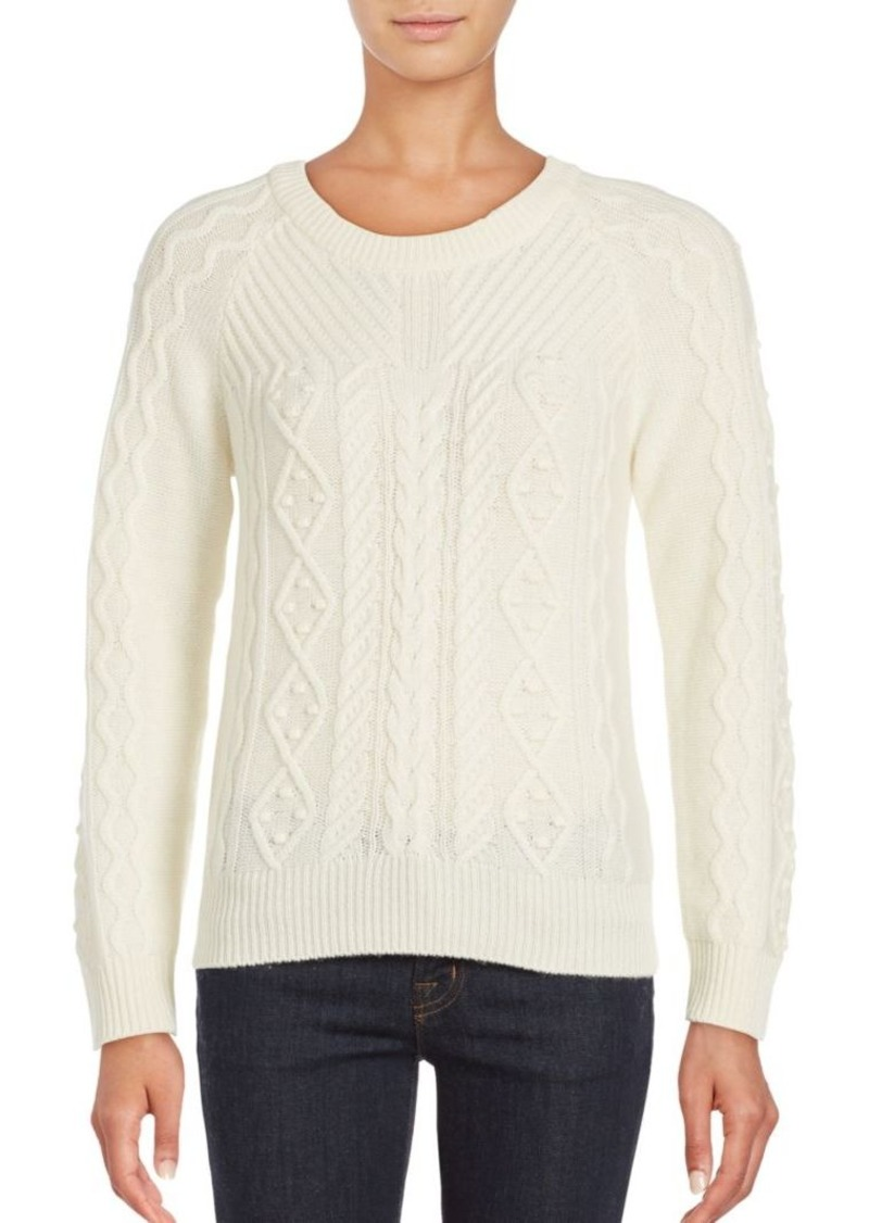 Saks Fifth Avenue Saks Fifth Avenue BLUE Cashmere Blend Sweater ...