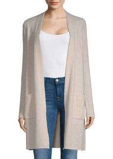Saks Fifth Avenue Cashmere Open Duster Cardigan