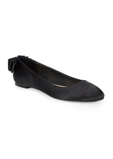 Saks Fifth Avenue Bow Back Flats