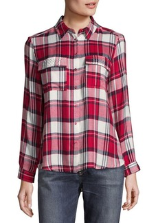 Saks Fifth Avenue Ciara Button-Down Shirt