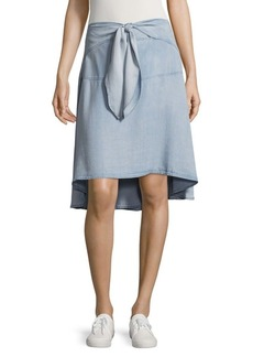 Saks Fifth Avenue Cilla Front Tie Skirt