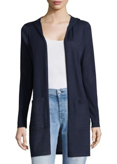 Saks Fifth Avenue Classic Hooded Duster