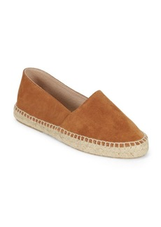 Saks Fifth Avenue Classic Leather Slip-On Espadrilles