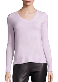 Saks Fifth Avenue COLLECTION Basic Cashmere V-Neck Sweater