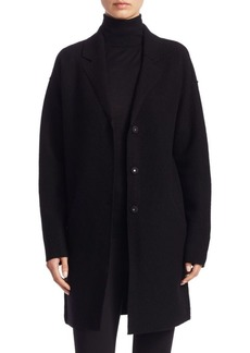 Saks Fifth Avenue COLLECTION Boiled Wool Car Coat