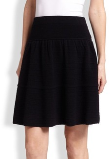 Saks Fifth Avenue Collection Cashmere Ottoman Skirt