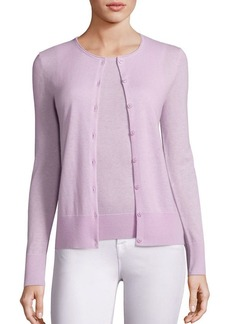 Saks Fifth Avenue COLLECTION Cashmere Roundneck Cardigan