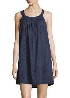 Saks Fifth Avenue COLLECTION Cotton Dot Chemise