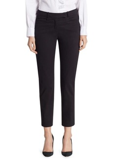 Saks Fifth Avenue COLLECTION Stretch Crop Trousers
