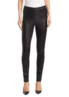 Saks Fifth Avenue COLLECTION Pull-On Leather Legging
