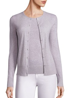 Saks Fifth Avenue Cashmere Button Front Cardigan