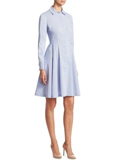 Saks Fifth Avenue COLLECTION Long Sleeve A-Line dress