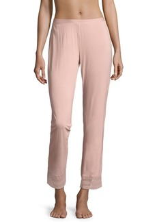 Saks Fifth Avenue COLLECTION Lori Lace-Accented Wide-Leg Pants