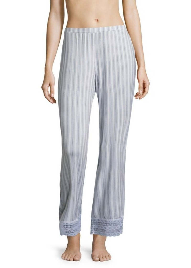 Saks Fifth Avenue Collection Lori Striped Wide-Leg Pants