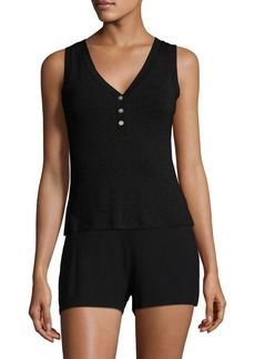 Saks Fifth Avenue COLLECTION Maddie Heathered Camisole