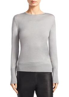 Saks Fifth Avenue COLLECTION Slim-Fit Crewneck Sweater