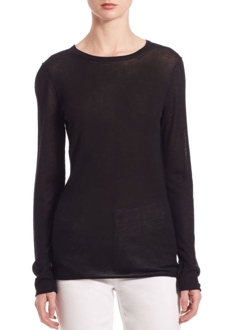 Saks Fifth Avenue Collection Modal & Cashmere Slim-Fit Tee