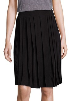 Saks Fifth Avenue Collection Plisse Skirt
