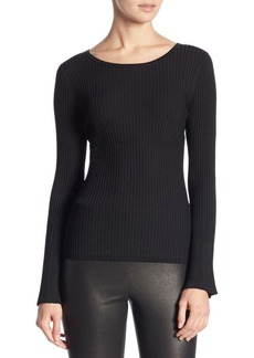 Saks Fifth Avenue COLLECTION Bell-Sleeve Sweater