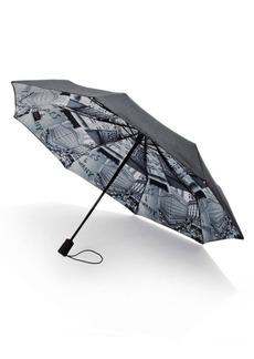 Saks Fifth Avenue Saks-Printed Lining Umbrella